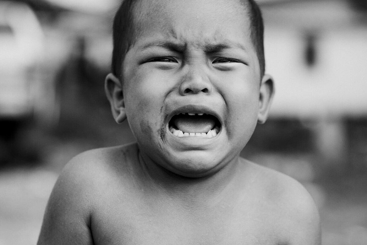 泣き虫少年